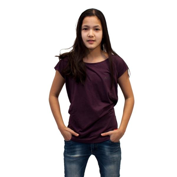 Bamboo .. T-Shirt Regular fit Eggplant