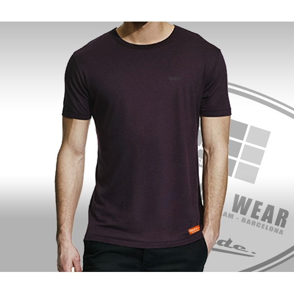 Bamboo .. T-Shirt Regular fit Eggplant