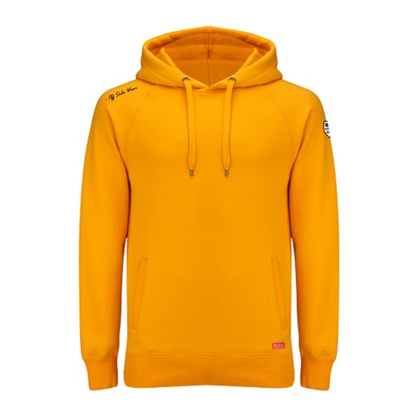 Cage .. Hoodie Upper Class Oker Gold