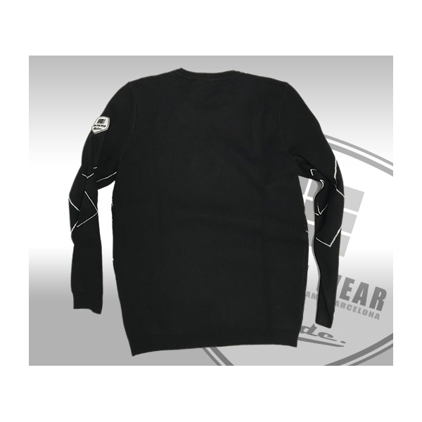 The Artist .. Pullover Slim Fit Black woven