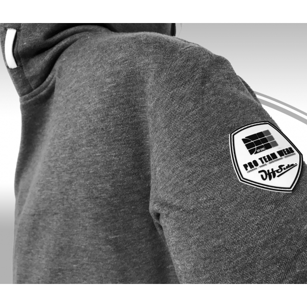 Midfield .. Hoodie Slim Fit Gray clean WMNS