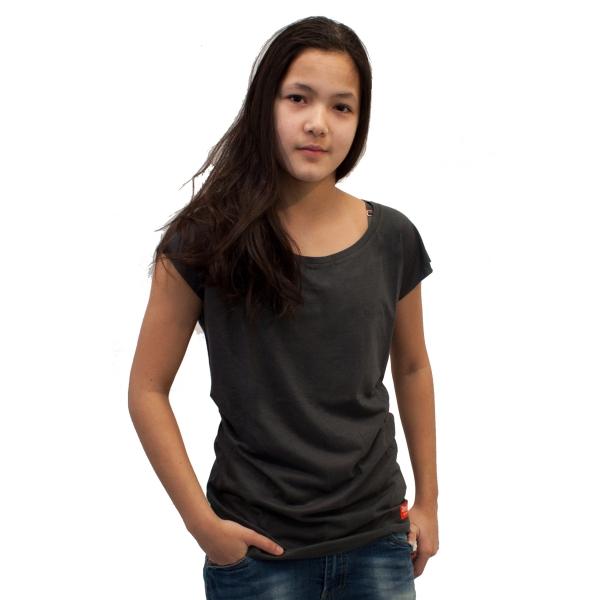 Bamboo .. T-Shirt Regular fit Gray