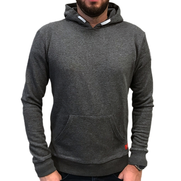 Midfield .. Hoodie Slim Fit Gray clean