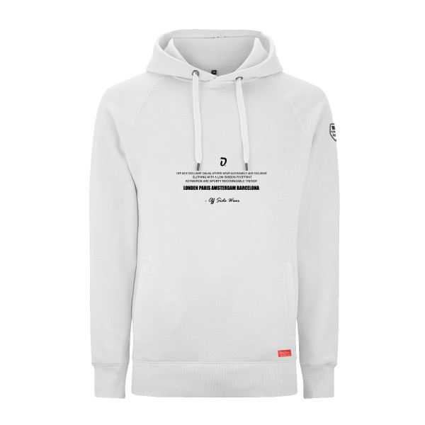 Cyber .. Hoodie Upper Class White
