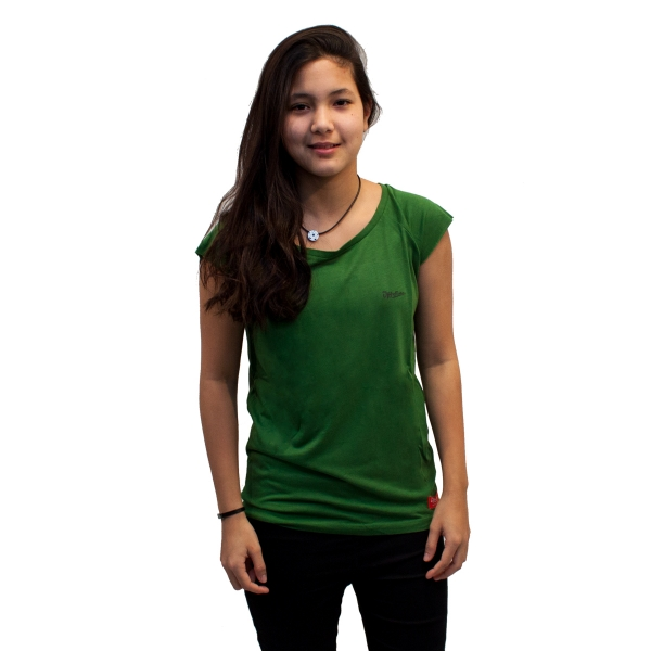 Bamboo .. T-Shirt Regular fit Green