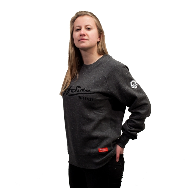 Freestyler .. Sweater Slim Fit Gray Granite WMNS